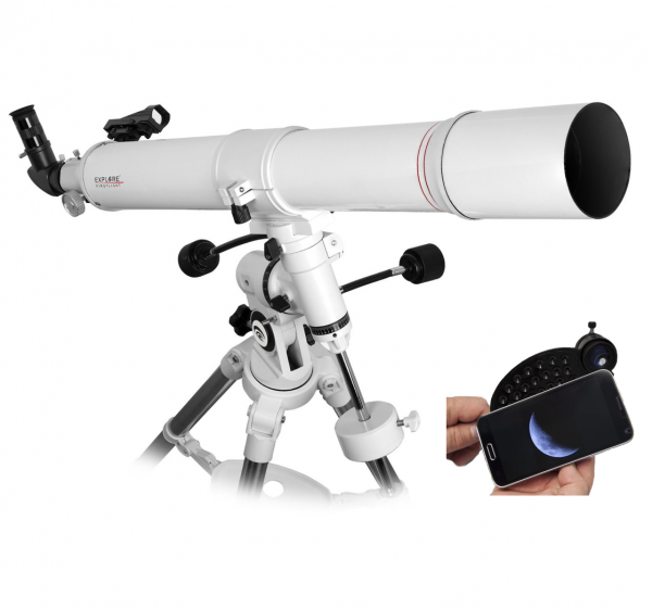 EXPLORE SCIENTIFIC FIRSTLIGHT 80MM REFRACTOR CON EQ3 MOUNT_0