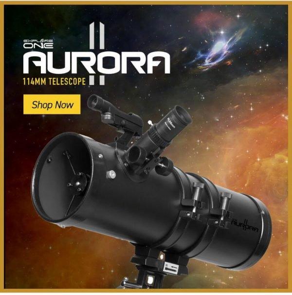 Explore One Aurora II Telescopio Newtoniano 114 AZ_0