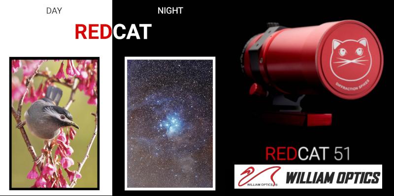 William Optics RedCat Astrofotografia
