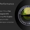 William Optics Zenith Star 73 APO FLP-53 OTA AZUL_002