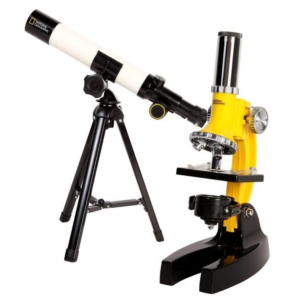 Set Telescopio 40mm y Microscopio 900x National Geographic