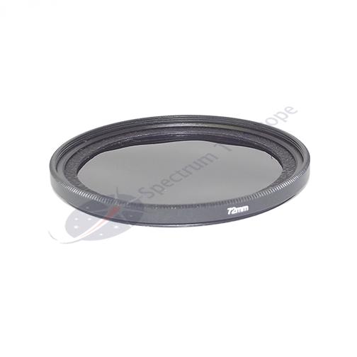 Spectrum Filtro solar para lente de camara fotografica STC 72 mm