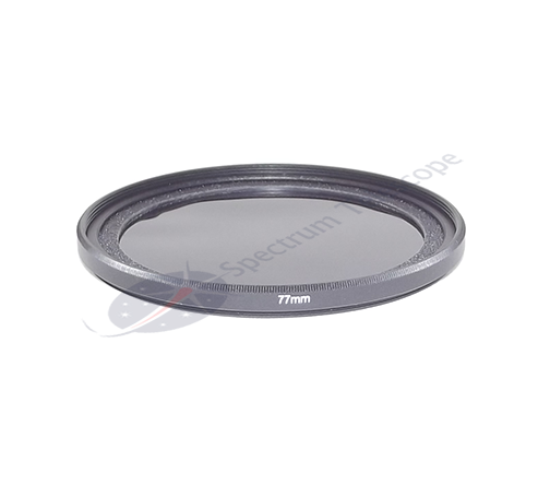 Spectrum Filtro solar para lente de camara fotografica STC 77mm