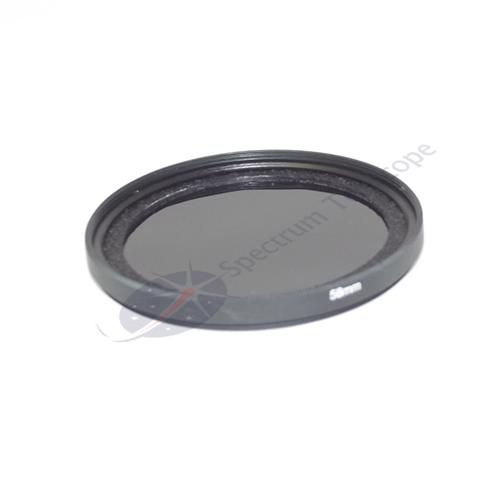 SPECTRUM Filtro solar para camara lente fotografica STC 58mm