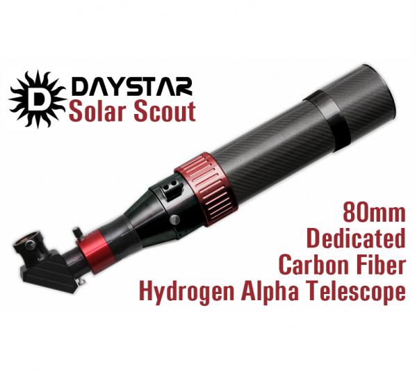 Telescopio Solar Dedicado DAYSTAR SS80C modelo Chromosphere