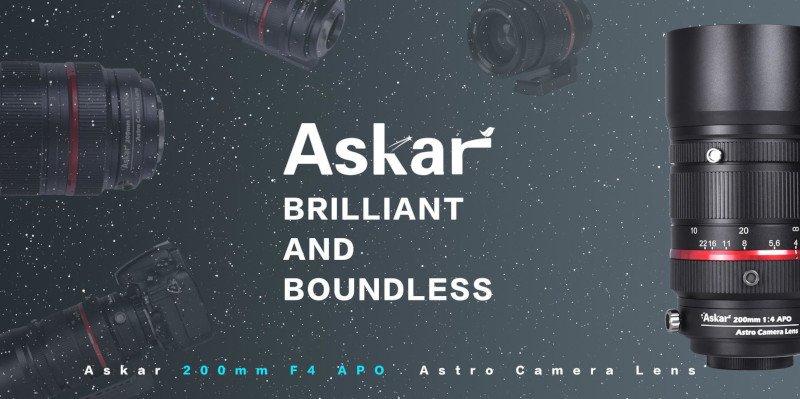 Askar ACL200 APO F4 Astro Camara Lens