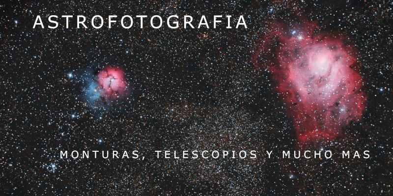 Astrofotografia monturas y telescopios North Optics